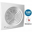 Badkamer/toilet ventilator Soler & Palau Silent (100CRZ) - Ø 100mm - MET TIMER