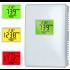 CO2 meter met ventilator aansturing op CO2 waarde aan/uit - 230V - incl. temperatuur- en vochtmeting