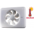 Nedco Fresh Intellivent CELSIUS - temperatuurgestuurde ventilator - WIT (331000)