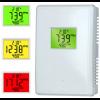 CO2 meter met ventilator aansturing op CO2 waarde aan/uit - 230V - incl. temperatuur en vochtmeting