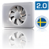 Nedco Fresh Intellivent design badkamerventilator 2.0 - WIT (330000)