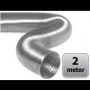 Semi-flexibele slang aluminium Ø 125mm - DOOS a 2 meter