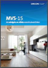 Orcon folder mvs15 mechanische ventilatie