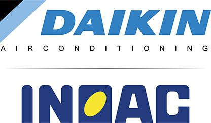 Daikin en Inoac airco units, leidinggoot en hulpstukken - Ventilatietotaal