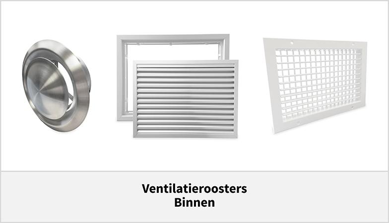 Ventilatieroosters voor binnen - Ventilatietotaal