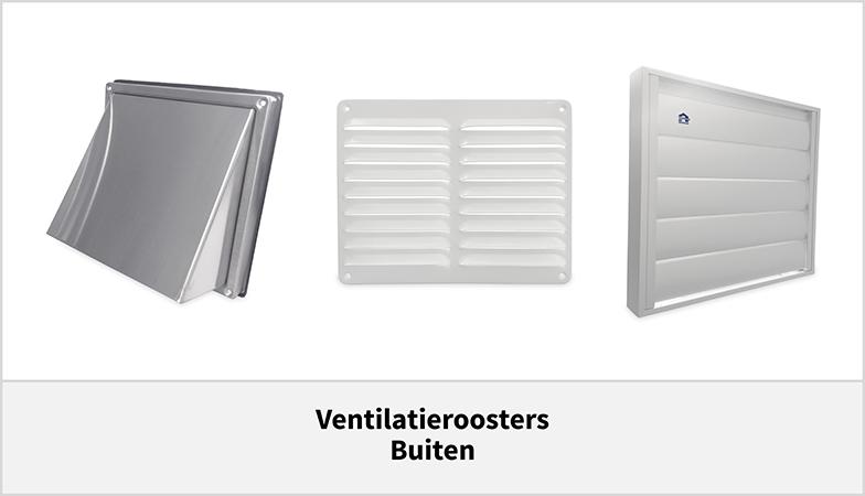 Ventilatieroosters voor buiten